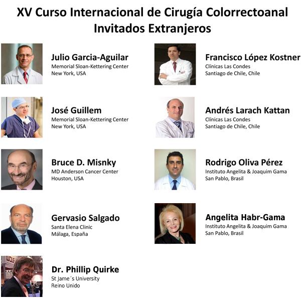 XV Curso Internacional de Cirug�a Colorrectoanal